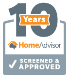 HomeAdvisor 10 Years Screened and Approved