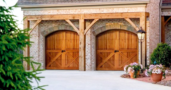 austin wood garage doors