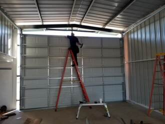 round rock new overhead garage doors install repair